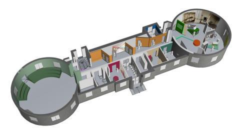 Översikt 3D utställningsförslag Tro, hopp och hälsa