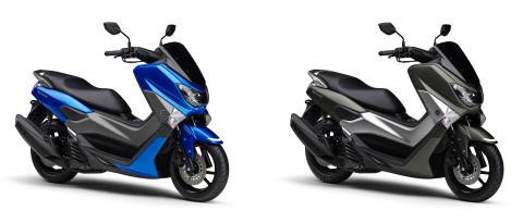 原付二種スクーター「NMAX ABS」のカラーリングを変更 光沢感のあるブルーの採用など 高級感をさらに強調