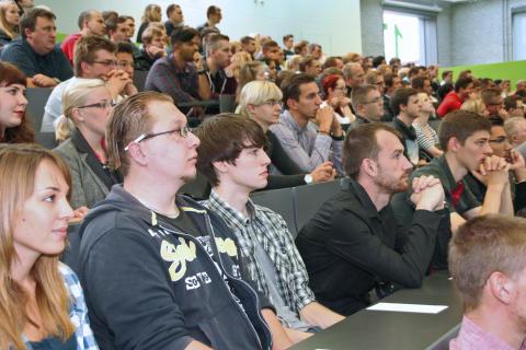 52 Schülerinnen und Schüler absolvieren in den Herbstferien ein Schnupperstudium an der Technischen Hochschule Wildau