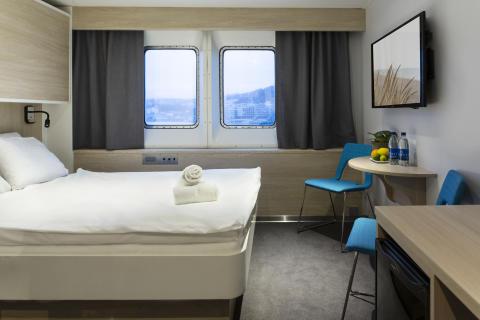 Ny Premium lugar med sjøutsikt og TV