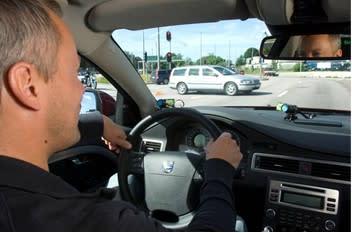 Insamling av verklig kördata bidrar till SAFERs forskning