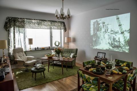 MKB i Malmö inreder 60-talslägenhet