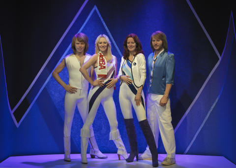 Finally back together – forever. ABBA The Museum presents figures of ABBA, showcasing unique Swedish craftsmanship