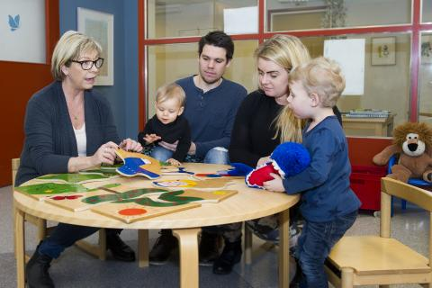 Snart öppnar Karlskogas nya familjecentral