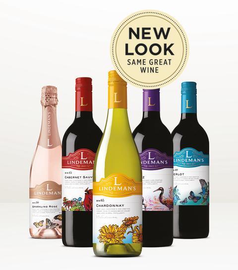 Lindeman's New Look Same Great Wine