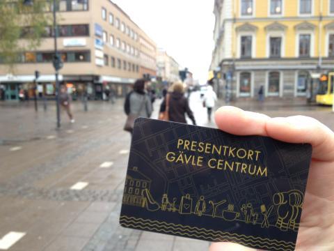 Gävle Centrums presentkort