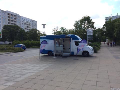 Beratungsmobil der Unabhängigen Patientenberatung kommt am 12. März nach Schwedt (Oder).