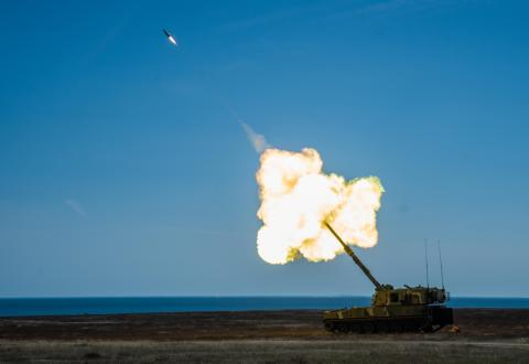 Testing of Nammo's Extended Range 155 mm ammunition