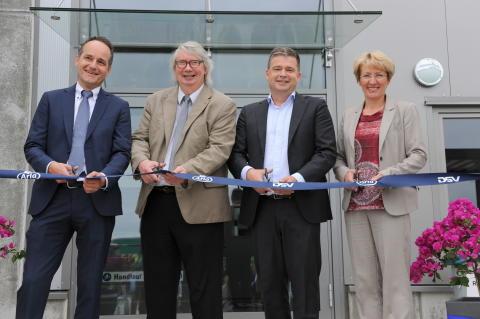 Opening of new Arla distribution terminal near Hamburg