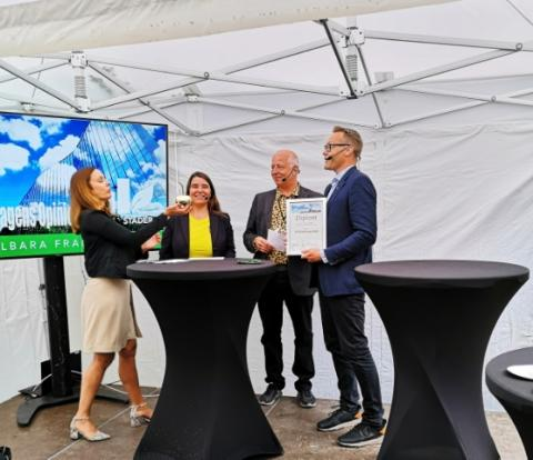 Helsingborgs stad och NSVA vinner det Hållbara framtidspriset för satsningen Tre Rör Ut