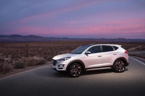 Nya Hyundai Tucson har premiär på New York International Auto Show