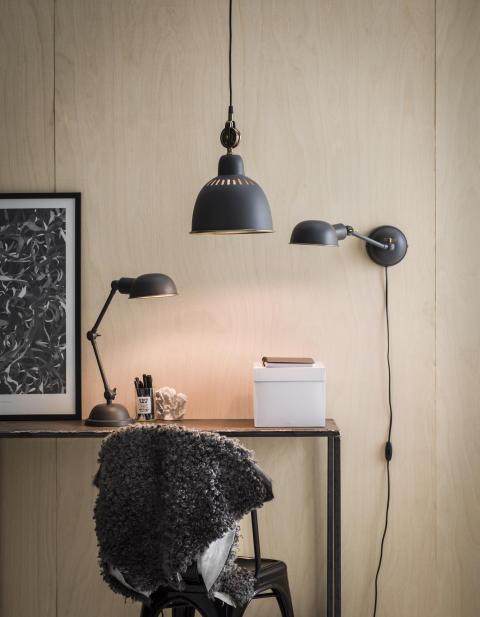 Tilde Skrivbordslampa och vägglampa