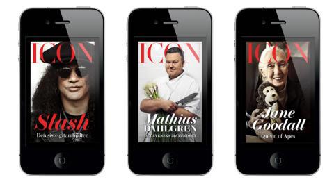 Icon i iPhone omslag