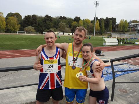 VM i friidrott för Downs Syndrom på Madeira i Portugal