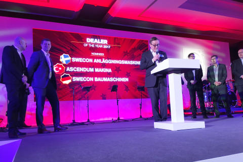 Nominerade till '2017 EMEA Dealer of the Year' av Volvo Construction Equipment