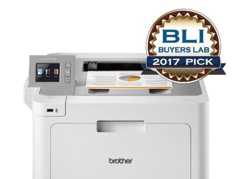 """Brother HL-L9310CDW door BLI uitgeroepen tot """"Outstanding Colour Printer"""" voor de KMO"""
