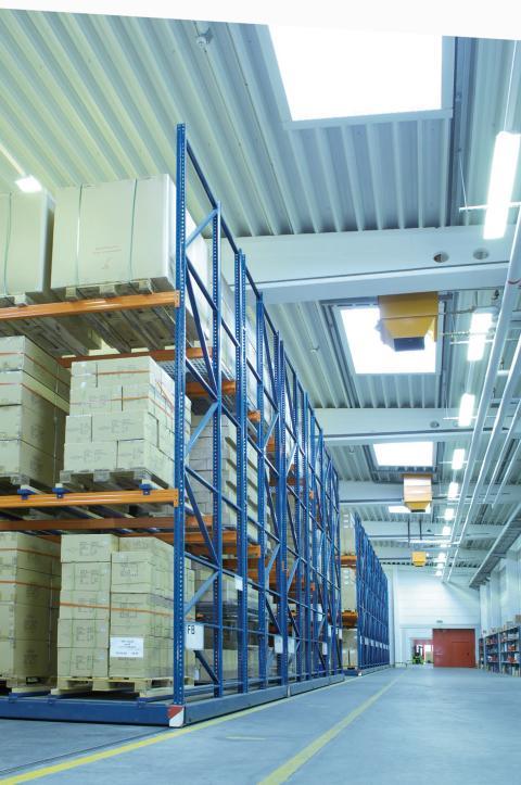 Ny närvarodetektor från ESYLUX för lagerlokaler och logistikcenter