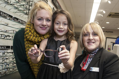 Vision Express charity pledge as Maiya reopens Sutton Coldfield store