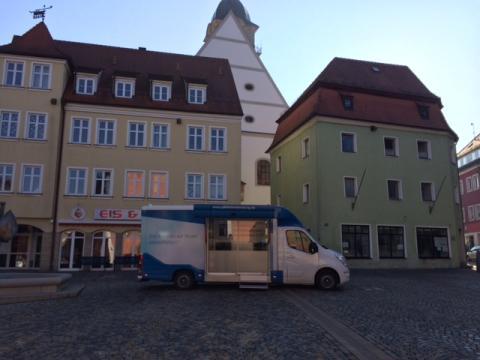 Beratungsmobil der Unabhängigen Patientenberatung kommt am 15. Mai nach Auerbach (Oberpfalz).