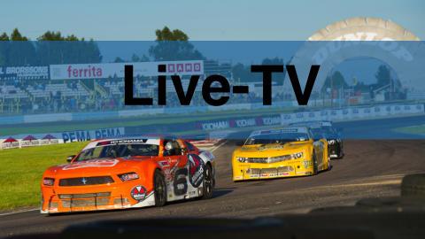 Se V8 Thunder Cars-premiären i direktsändning!