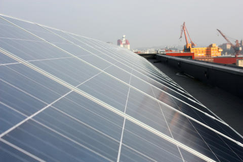 Nu bygger vi Sveriges största solcellspark i Göteborg