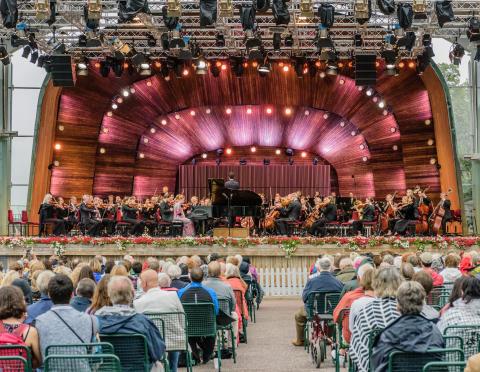Kungliga Filharmonikerna på Skansen 20170703