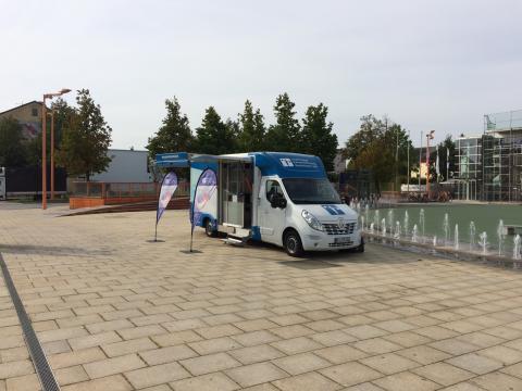 Beratungsmobil der Unabhängigen Patientenberatung kommt am 6. November nach Burghausen.