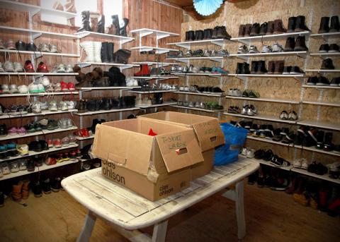 Hej Främling!:s sportbutik i Grytan