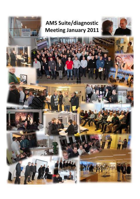 AMS Seminarium om tillståndsbaserat Underhåll inom Processindustrin hos Askalon AB i Karlstad 23-24 januari 2013