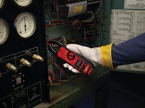 Milwaukee tangamperemeter til ventilationsarbejde