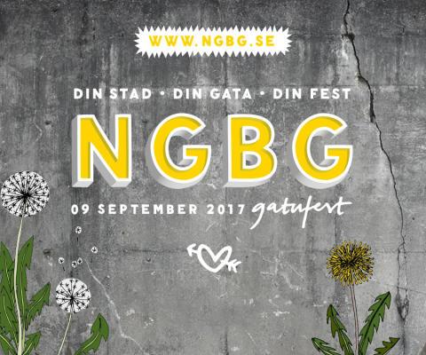 Gatufest på NGBG