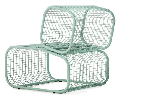Cushy lounger, design Gripner & Hägglund