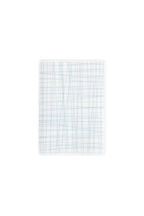 R_Mesh_Line Aqua_Platte 18 x 13 cm flach