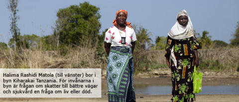 ActionAid-rapport väcker debatt i Tanzanias parlament