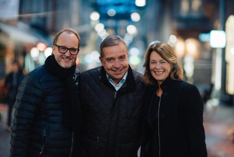Tomas Olsson, Erik Hallberg, Marianne Lundgren-Précenth