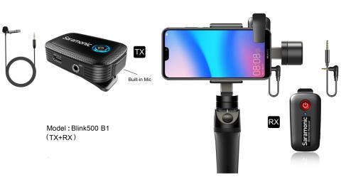 Saramonic_Blink500 B1-Smartphone