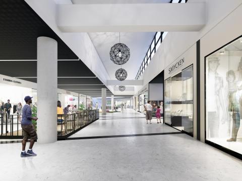 Tumba Centrum på nytt spår