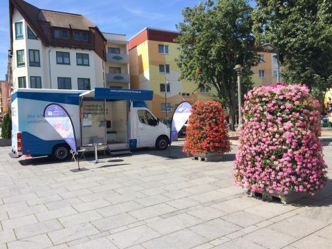 Beratungsmobil der Unabhängigen Patientenberatung kommt am 18. Juli nach Prenzlau.