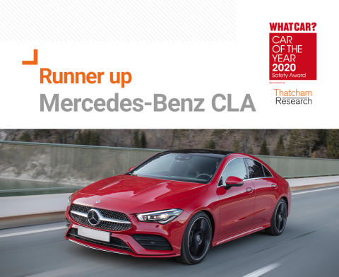 What Car? Safety Award runner up - Mercedes-Benz CLA