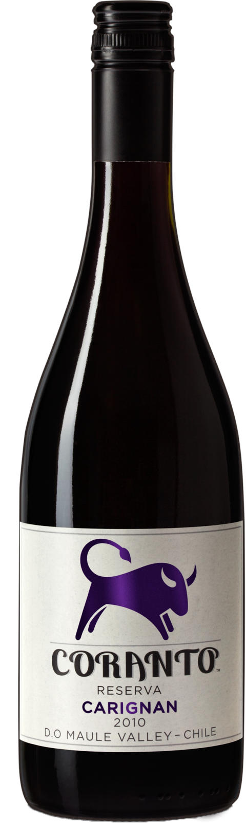 Coranto Reserva Carignan 2010 – en vällagrad carignan visar Chiles bredd som vinland