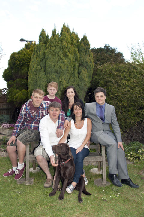 Nectar Savvy Family 2013 Winners - The Abell Family