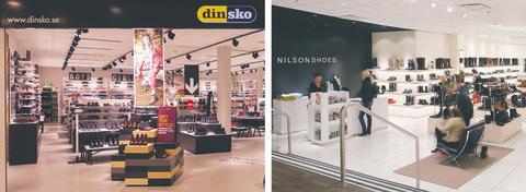 DinSko ja Nilson Shoes avaavat uuden myymälän Kampin kauppakeskukseen