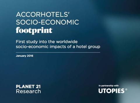 Här är resultaten av AccorHotels första världsomspännande studie kring hotellkedjans socioekonomiska avtryck