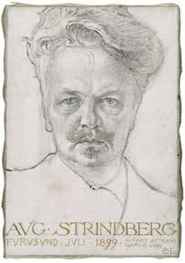 Strindbergs Fordringsägare spelas på Nationalmuseum
