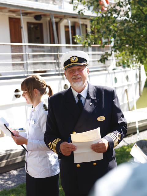 Pressbild - M/S Diana på Göta kanal