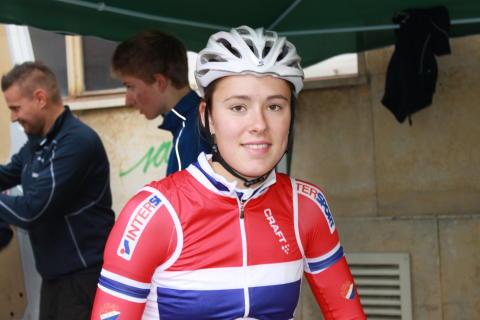 Eline Brustad under sykkel-VM 2014