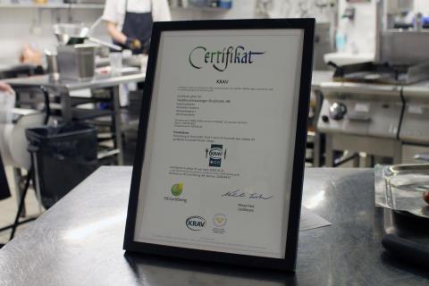 KRAV-certifiering Stadshuskällaren