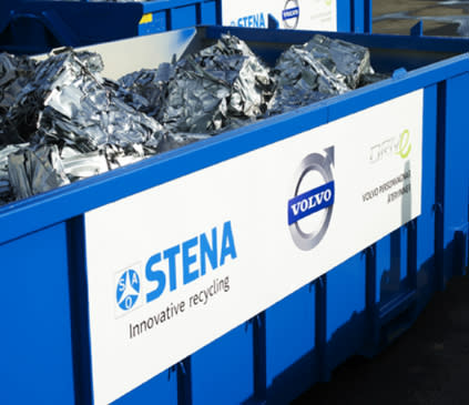 Stena Recycling nominerades till Volvo Car Corporation Award of Excellence