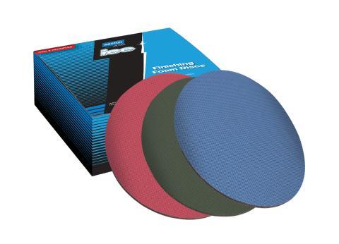 Norton slip- och polerprodukter för strålkastarrenovering - Rondeller