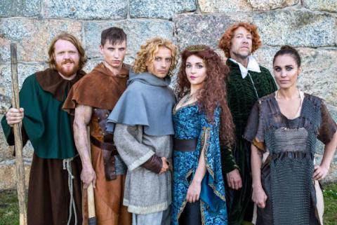 Premiär för Martin Almgren som musikalartist i Robin Hood